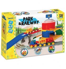 Play Tracks Railway - Stacja kolejowa