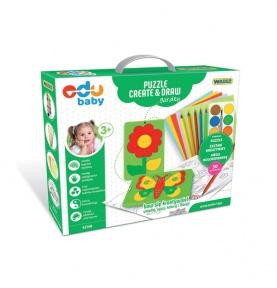 Puzzle create&draw - ogród