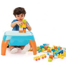 Play Table with Blocks 42 el. Stolik wielofunkcyjny