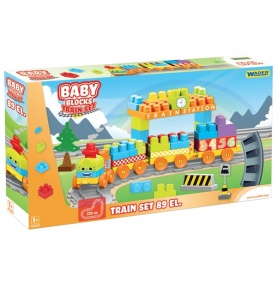 Baby Blocks Railway Kolejka 3,35m