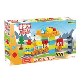 Baby Blocks Railway Kolejka 2,24m