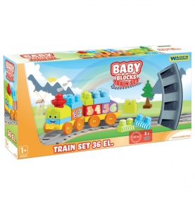 Baby Blocks Railway Kolejka 1,45m