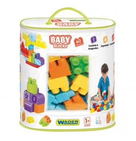 Baby Blocks - torba 60 szt