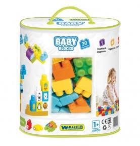 Baby Blocks - torba 30 szt