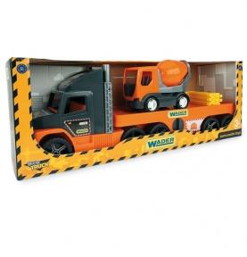 Super Tech Truck laweta z betoniarką