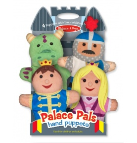 Palace Pals Hand Puppets (Kukiełki postacie z zamku - pluszowe)