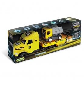 Magic Truck Technic laweta z wywrotką