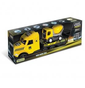 Magic Truck Technic laweta z betoniarką