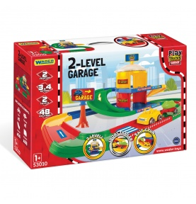 Play Tracks Garage garaż 2 poziomy