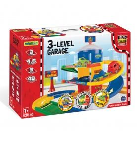 Play Tracks Garage garaż 3 poziomy