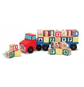 Ciężarówka z Klockami - Alfabetem