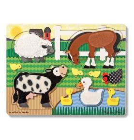 Puzzle Dotknij i Poczuj Farma