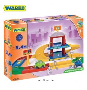 KID CARS 3D – GARAŻ 2-POZIOMOWY