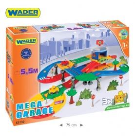 KID CARS 3D –  MEGA GARAŻ Z TRASĄ 5,5 m