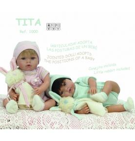 Lalka Tita z króliczkiem