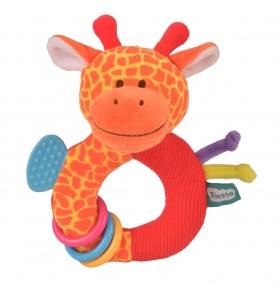 Pluszowy Gryzak-Grzechotka Żyrafa