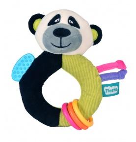 Pluszowy Gryzak-Grzechotka Panda