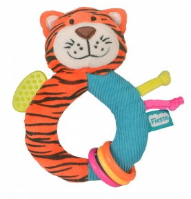 Pluszowy Gryzak-Grzechotka Tygrys