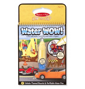 Water Wow Kolorowanka wodna - pojazdy