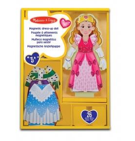 Księżniczka Elise - drewniana lalka do przebierania